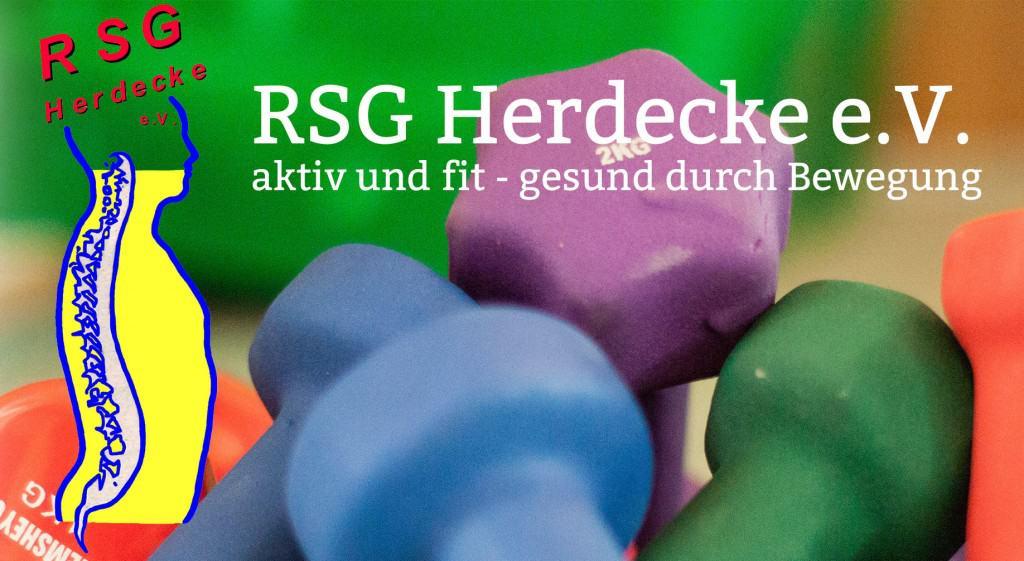 Logo und Hanteln RSG Herdecke e.V.